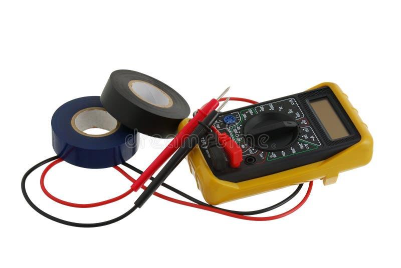 Download Electricity worker set stock image. Image of multimeter - 19913533