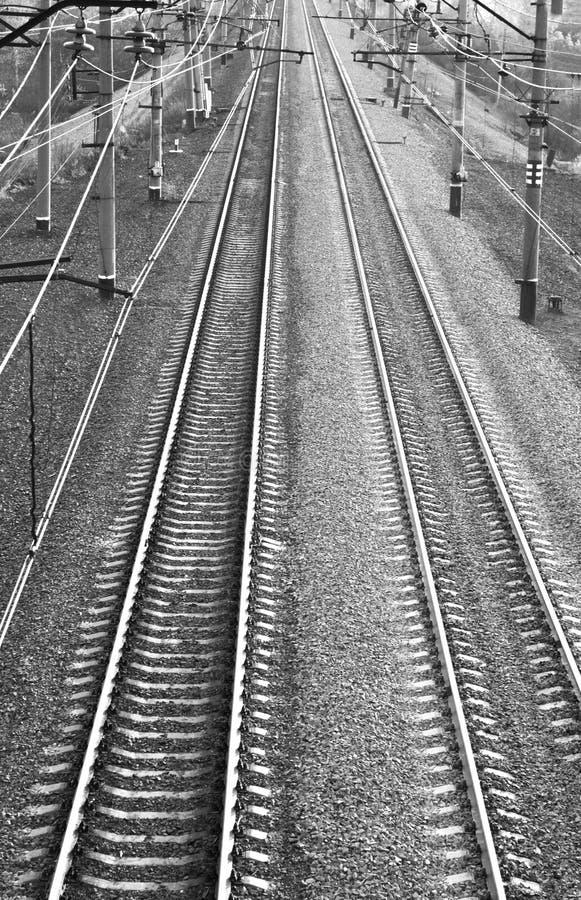 Electrified The Railway Stock Photos