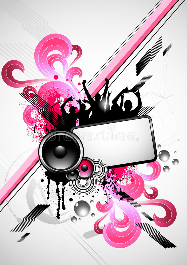 Download Electro Fusion Party stock illustration. Image of lifestyle - 6425835