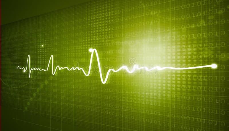 electrocardiogram ilustração do vetor