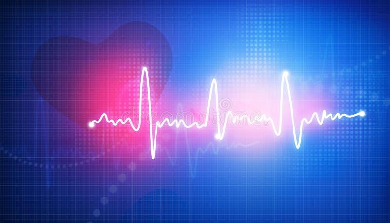 electrocardiogram ilustração royalty free