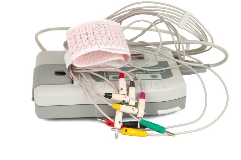 Electrocardiograph Machine Royalty Free Stock Photos