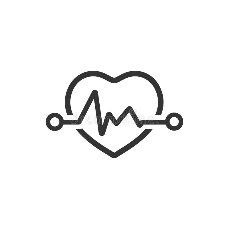 Electrocardiography Icon. Beautiful, meticulously designed Electrocardiography Icon. Perfect for use in designing and developing websites, printed materials and vector illustration