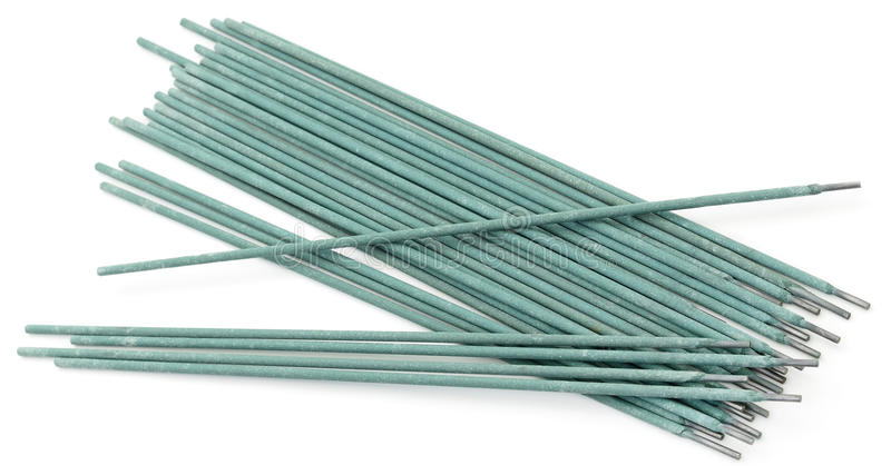 Electrode welding rod. stock photo. Image of stack, isolated - 66717070