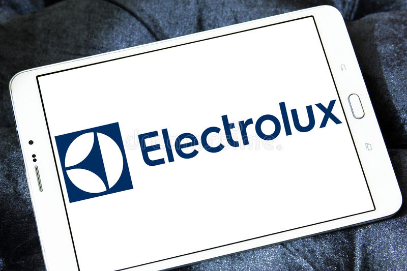 Electrolux domowego urządzenia firmy logo obraz royalty free