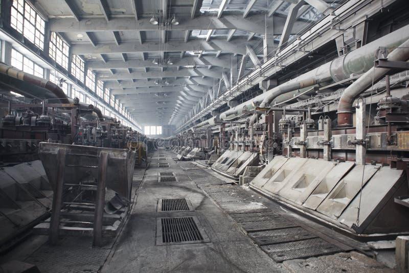 electrolytic producera för aluminum bad royaltyfri fotografi
