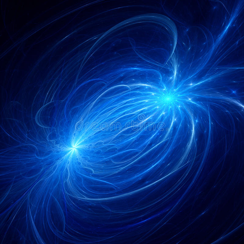 Free Electromagnetic Plasma Field Stock Images - 41328114