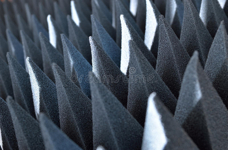 Electromagnetic shielding material. Screen protection material against electromagnetic radiation stock images