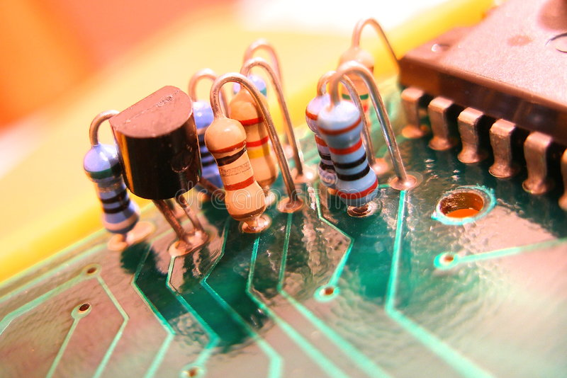 Electronic. Component royalty free stock image