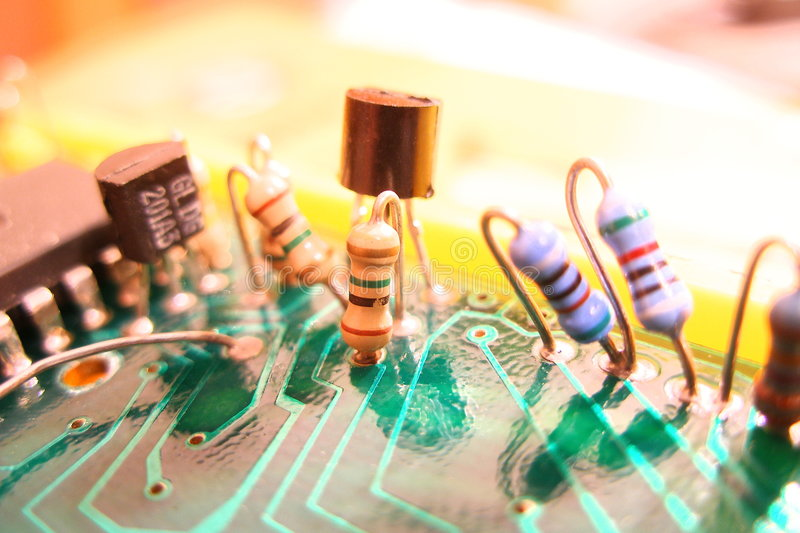 Electronic. Component royalty free stock photography