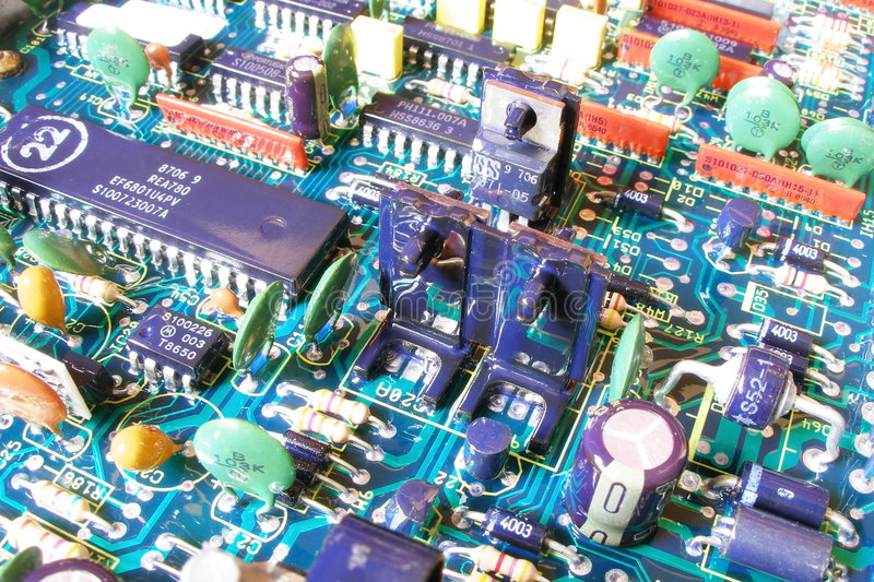 Electronic. Component stock images