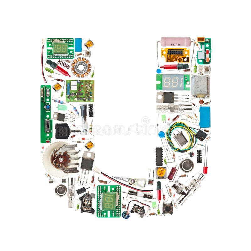 Electronic alphabet stock images image 24702174 for Abc electric motor repair