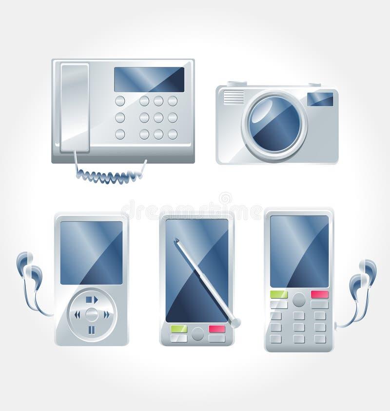 Electronic Appliances vector stock photo