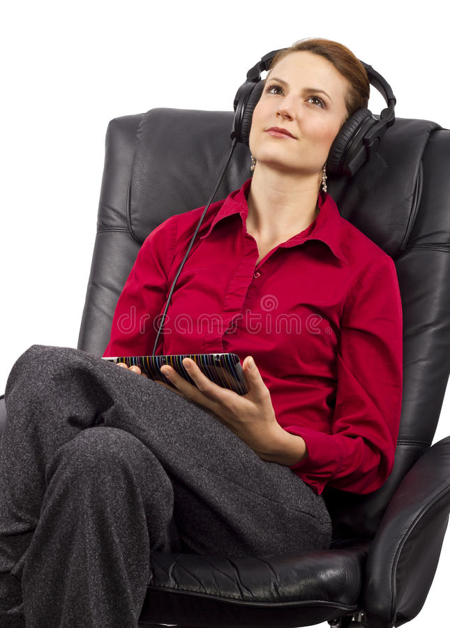 Download Electronic Audio Books stock image. Image of hobby, knowledge - 32576623