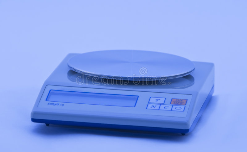 Download Electronic balance stock photo. Image of scales, science - 5028324
