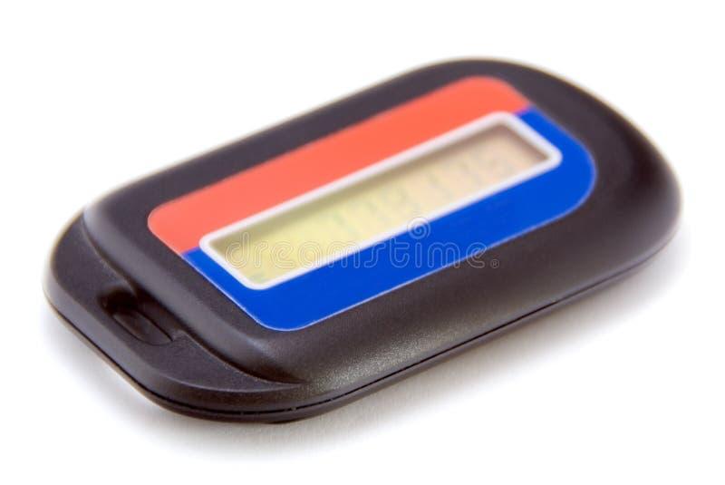 Electronic bank token stock image