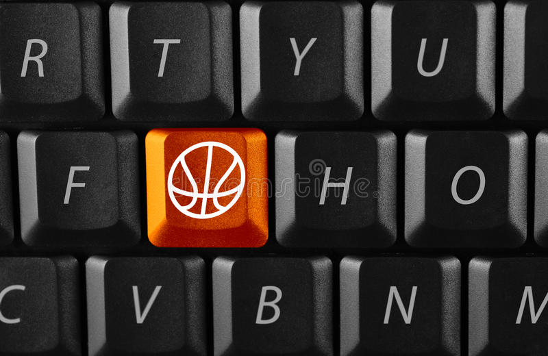 Download Electronic basketball stock photo. Image of keyboard, basketball - 9961526