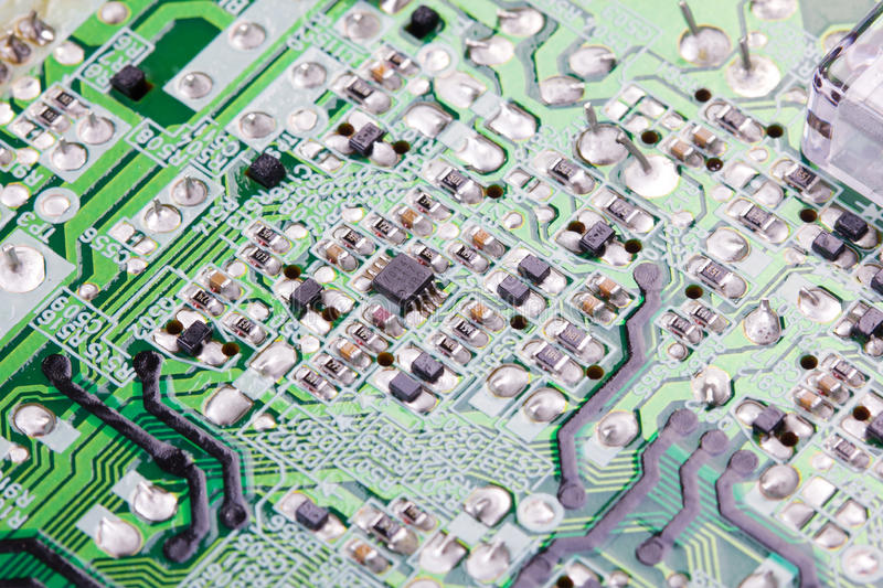 Download Electronic board. stock image. Image of detail, industrial - 23717431