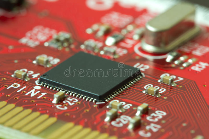 Download Electronic Board Stock Photo - Image: 25179100