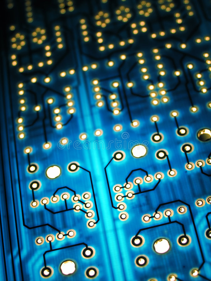 Electronic board royalty free stock photos