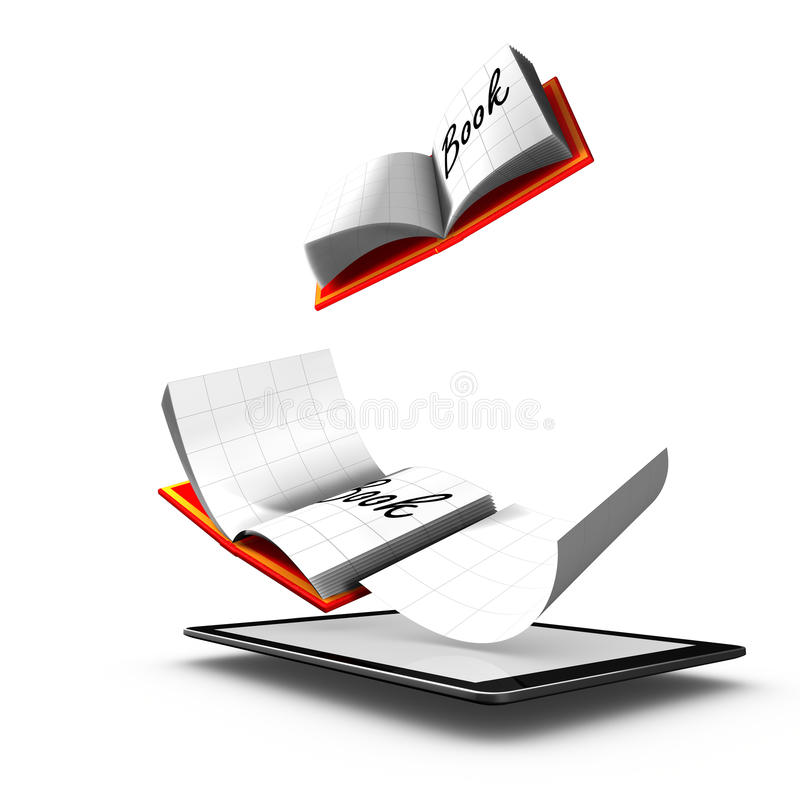 Download Electronic Book Is A Book Publication In Digital F Stock Illustration - Image: 20596512