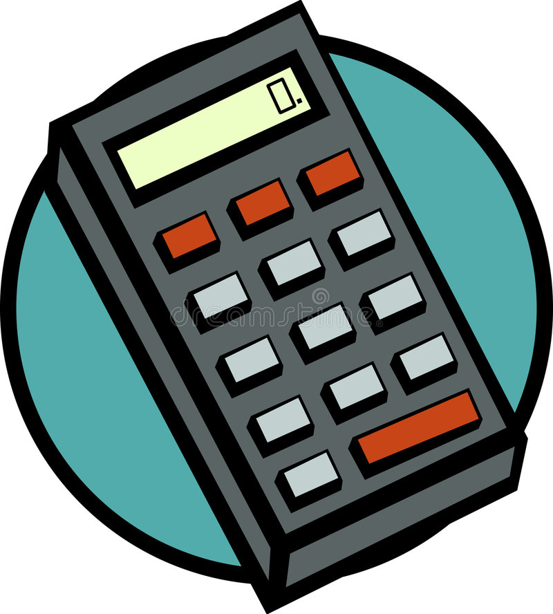 Download Electronic Calculator Vector Illustration Stock Vector - Image: 2077197