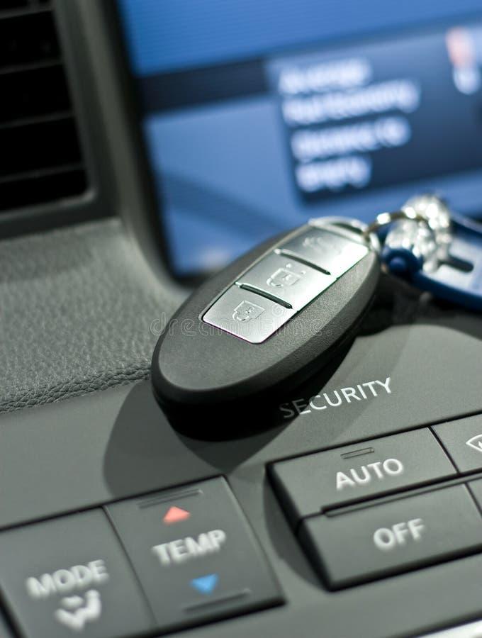 Electronic car key closeup photo. Electronic car key close up photo stock images
