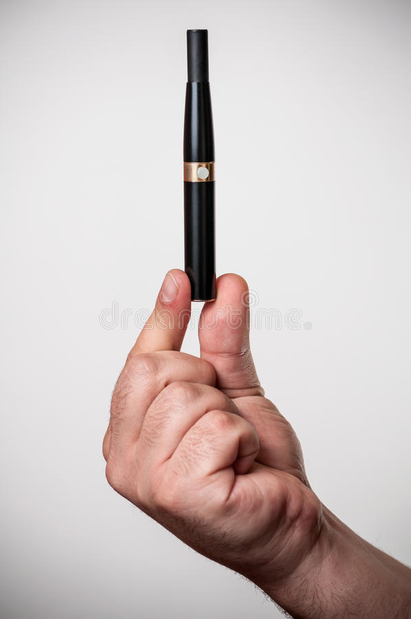 Download Electronic cigarette stock photo. Image of breath, cigarette - 26790928