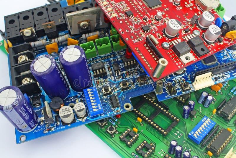Electronic circuit stock photos