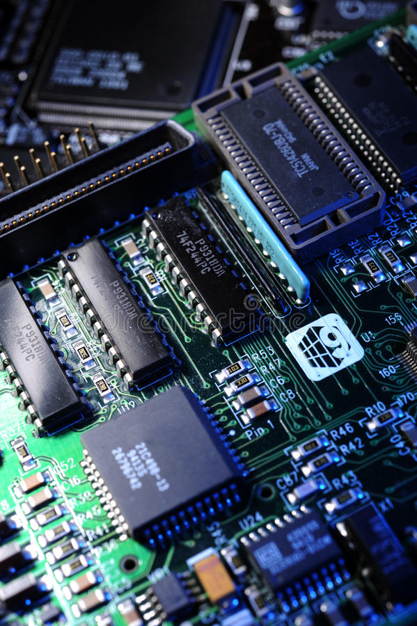Free Electronic Circuit Board Stock Photography - 13358502
