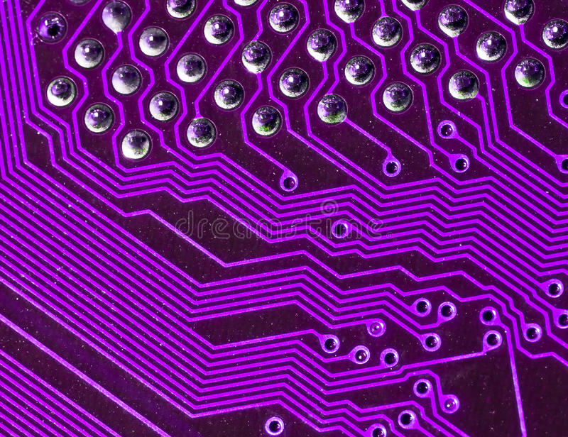 Electronic circuit board. For background stock photography