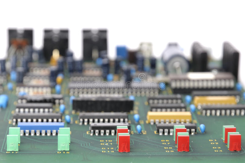 Download Electronic circuit board stock photo. Image of detail - 24562796