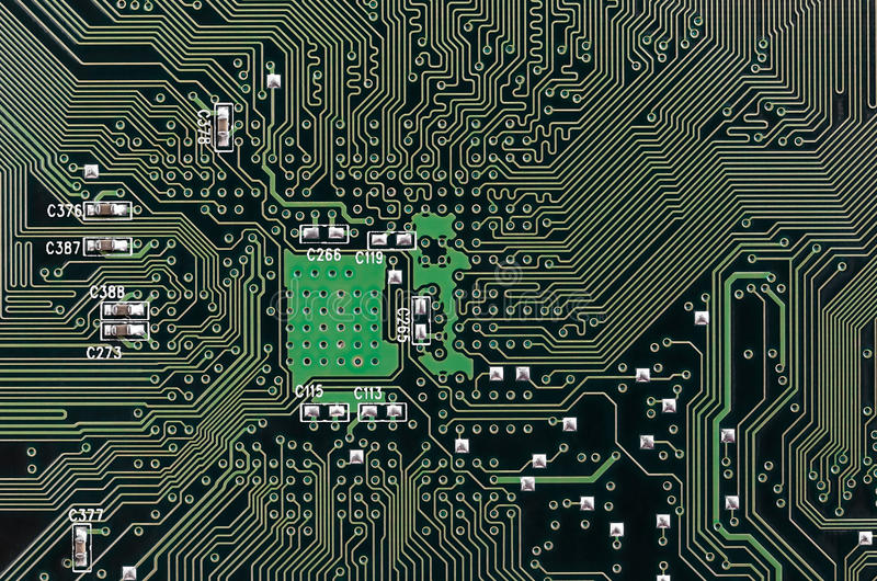 Download Electronic Circuit Board stock photo. Image of high, circuit - 34164476