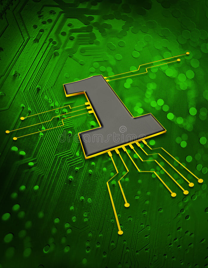 Download Electronic Circuit Concept Royalty Free Stock Photography - Image: 11912947