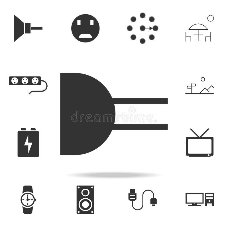 Electronic Circuit Symbol Icon. Detailed Set Of Web Icons. Premium ...