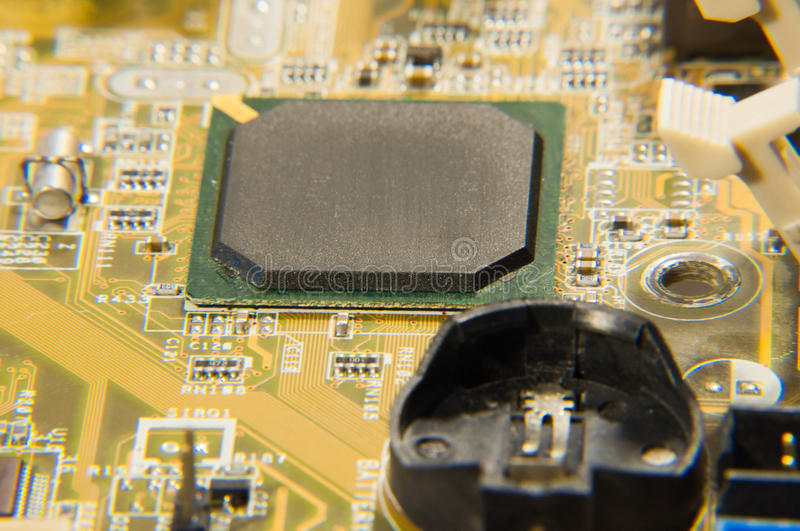 Electronic circuits royalty free stock image