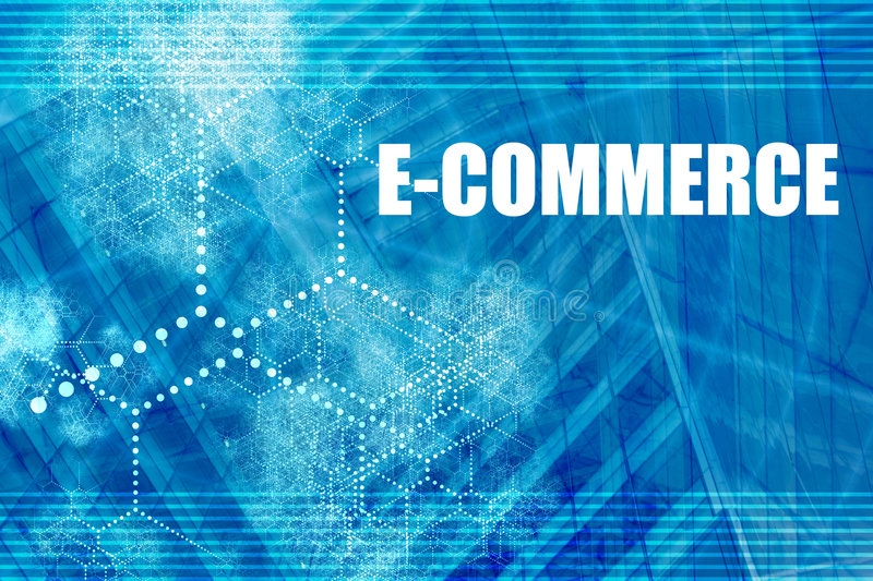 Electronic Commerce stock illustration