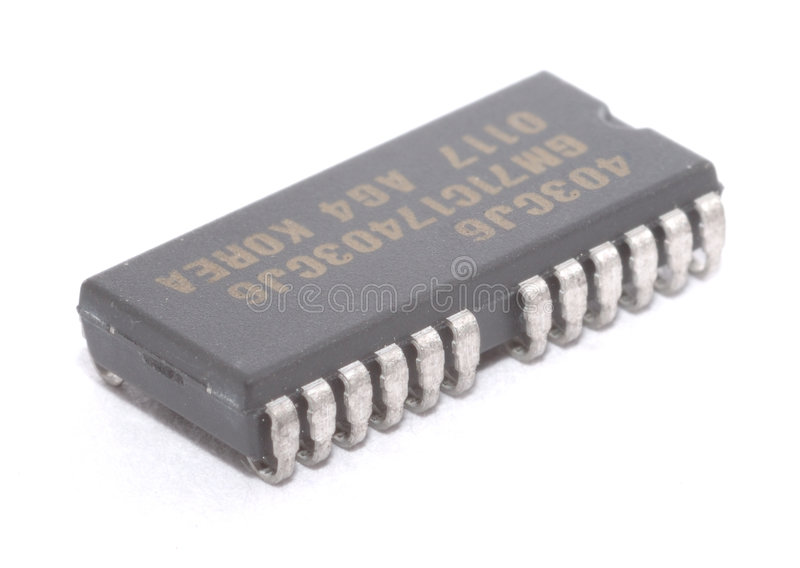 Electronic component. It is electronic components, IC. for computer memory stock image