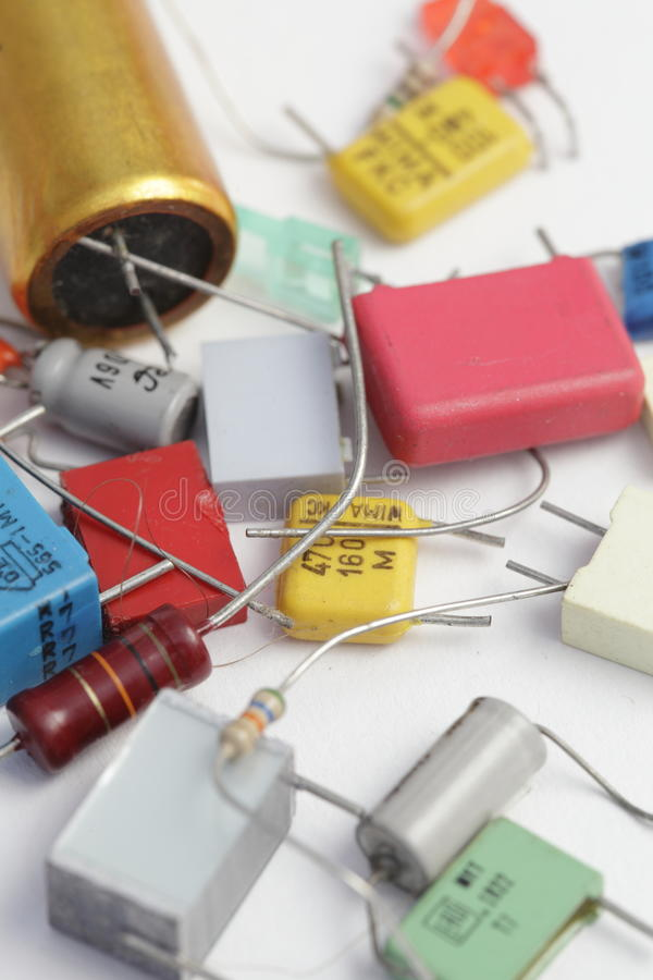 Download Electronic components stock image. Image of electrical - 19267175