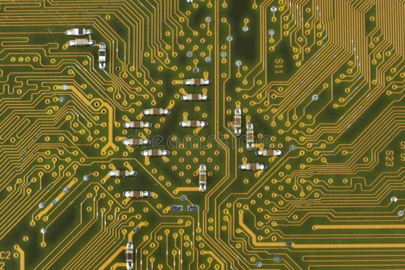 Electronic components / macro shoot. Image stock image