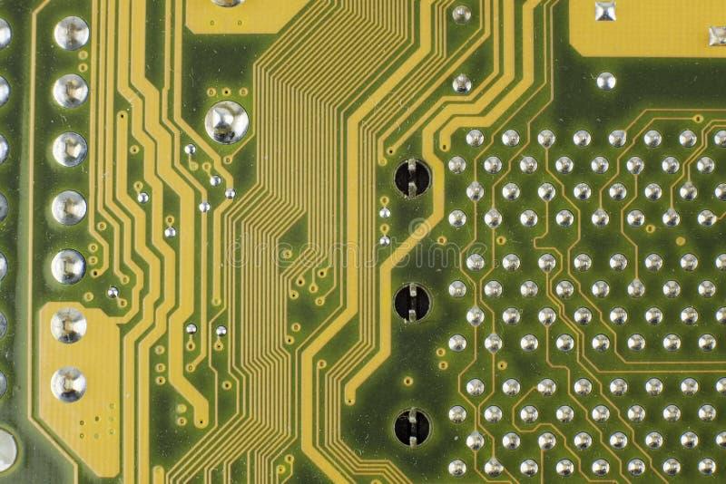 Electronic components / macro shoot. Image stock photography