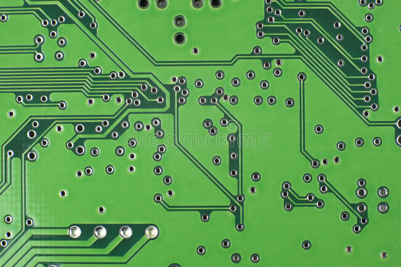 Electronic components / macro shoot. Image royalty free stock images