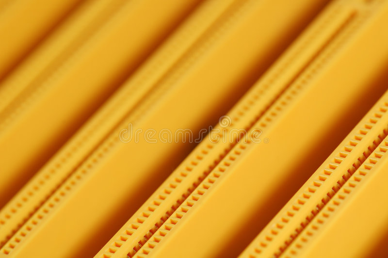 Electronic Connectors royalty free stock photo