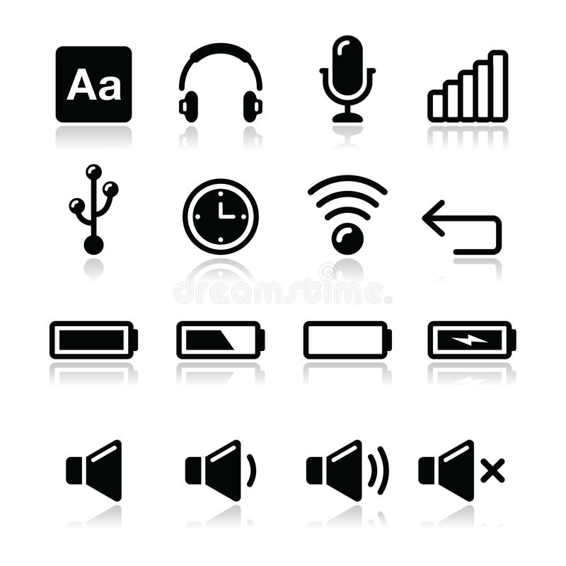 Download Electronic Device / Computer Software Icons Set - Stock Images - Image: 28284264
