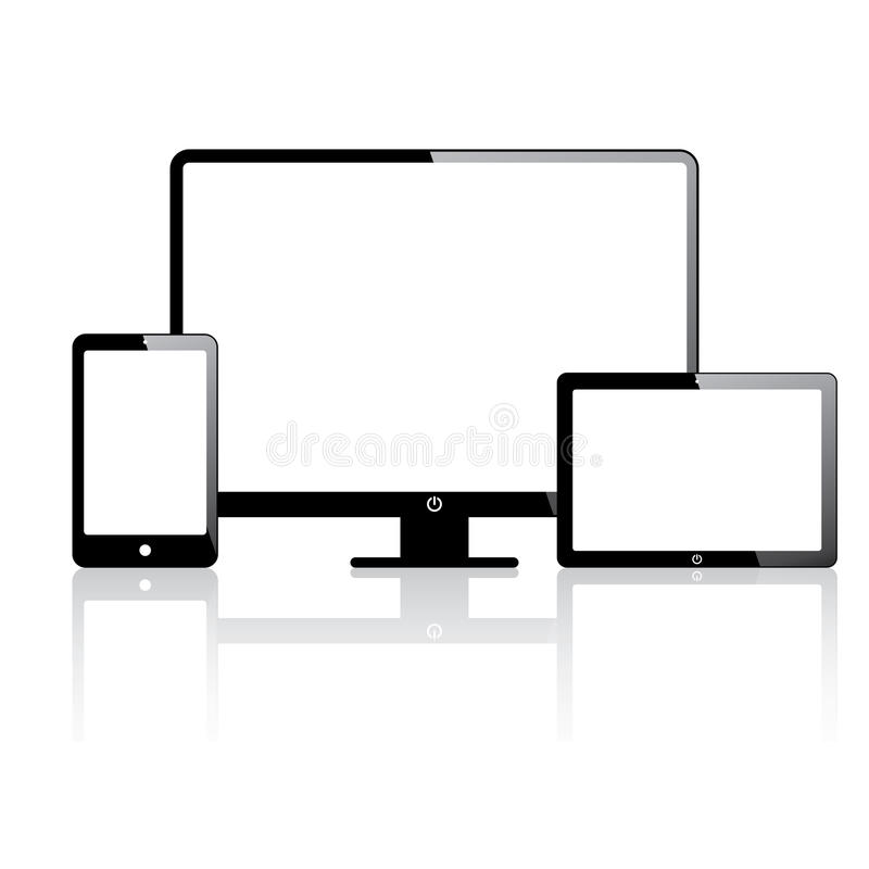 Download Electronic devices stock image. Image of icon, internet - 33938373