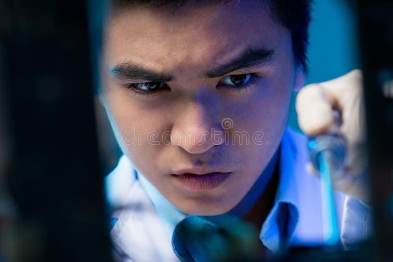 Electronic engineer stock photo