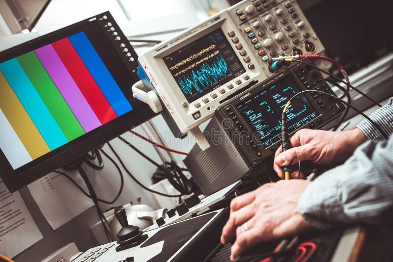 Electronic equipment stock image