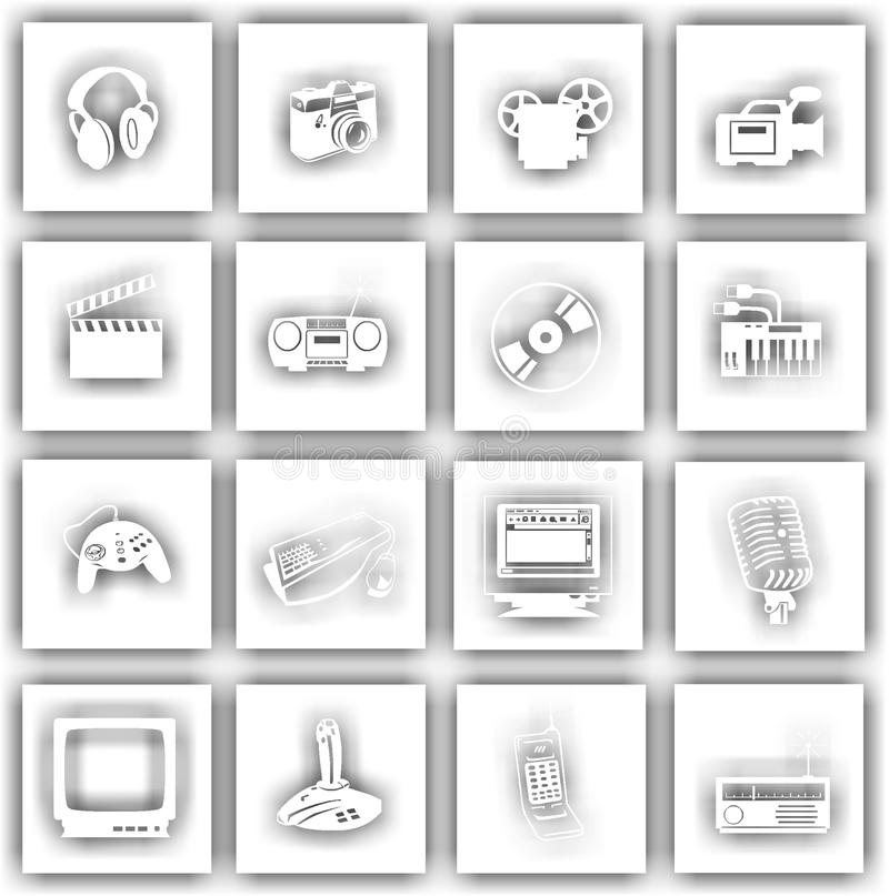 Modern Symbols Electronics Picture Collection - Everything You Need ...