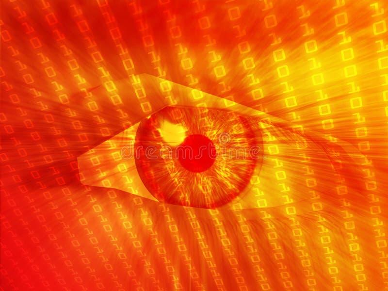 Download Electronic Eye Illustration Stock Illustration - Image: 6539088