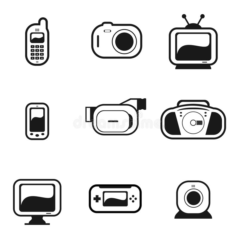Electronic Gadgets 2 Stock Images